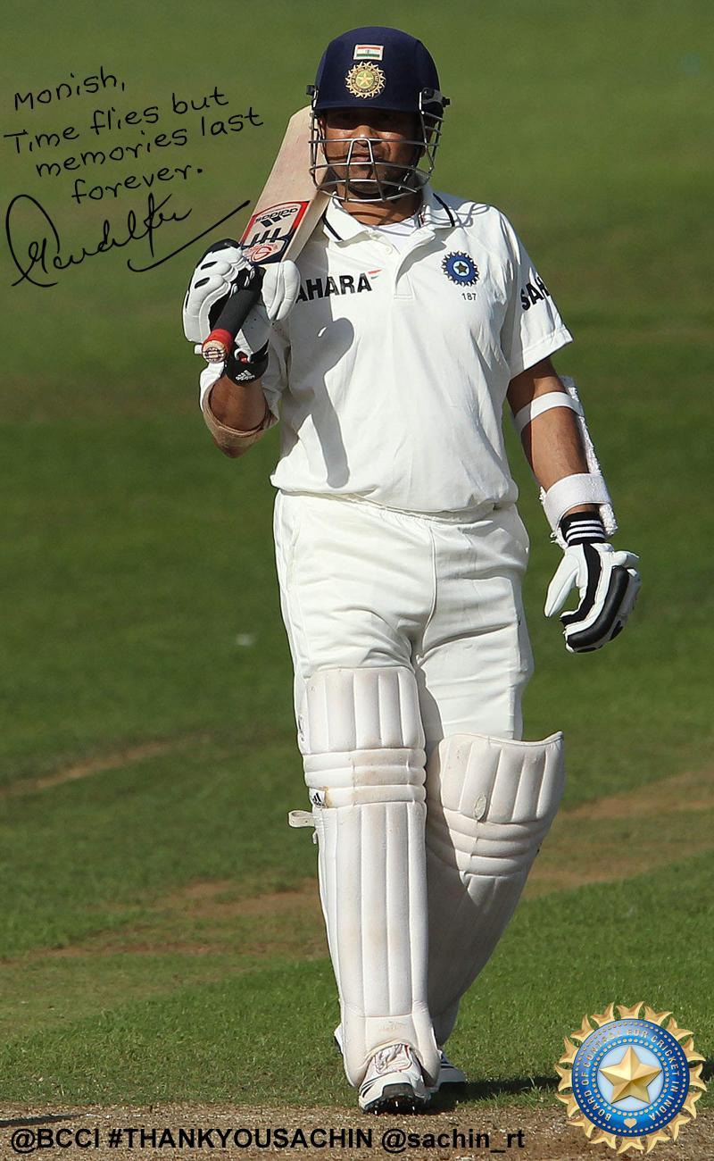 Salute to Sachin!