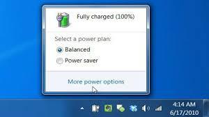 Source - Screenshot of Power Management
