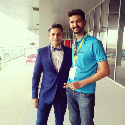 With VJ Yudi  @ BIC