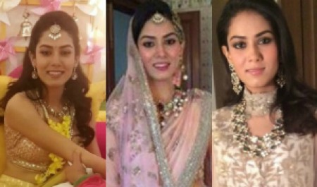 Mira Rajput looking graceful at her pre-wedding ceremony and on Wedding day