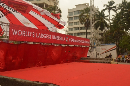 SAB TV World's largest umbrella