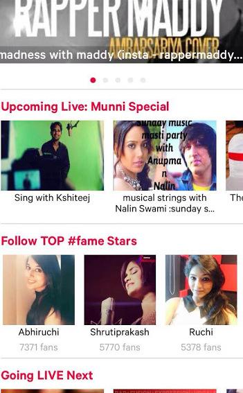 #fame.app star
