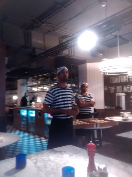 chef introduction, pizza express, chef table, food blogger
