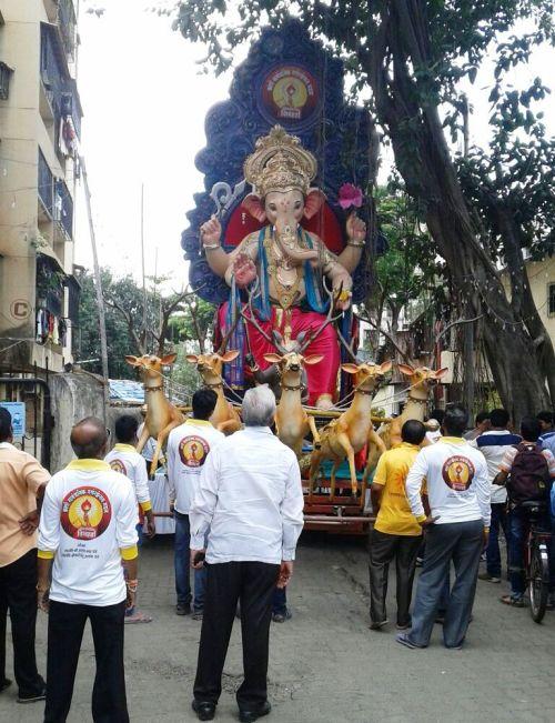 ganeshostav festival 2015,mumbai