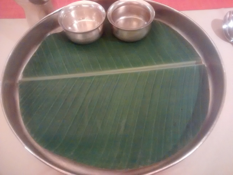 Banana Leaf Thali