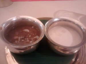 Madhuram- Basundi and Payasam