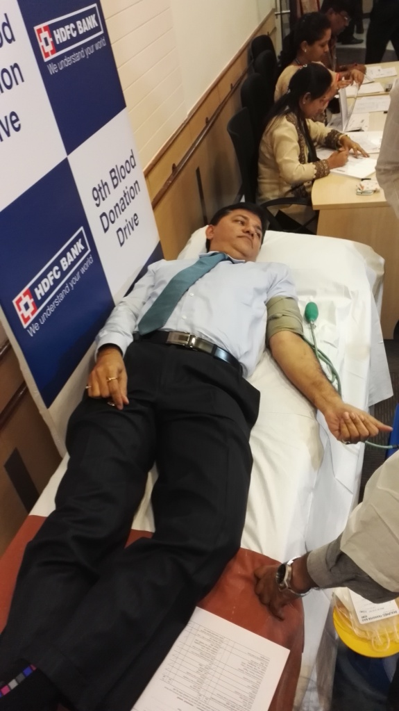 HDFC Blood bank, donate blood