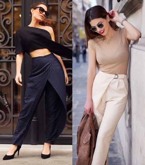 ladies trousers, feminine,