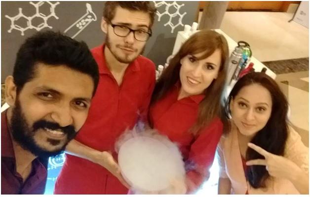 liquid nitrogen popcorn, foodventures, love, food, chef vikas khanna, vir sanghvi